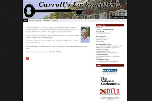 Carroll's Locksmithing